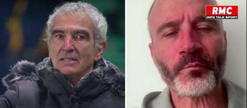 Eric Di Meco se paye Raymond Domenech - Photos captures d'écran vidéo Youtube