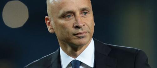 Eugenio Corini, tecnico del Lecce.