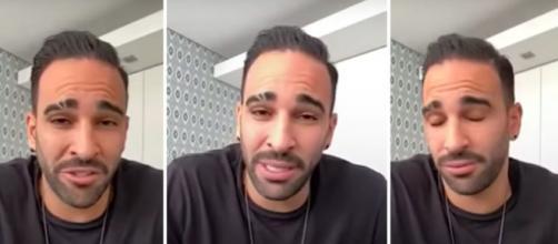 Le coup de gueule d'Adil Rami contre les stars du PSG - Photo captures d'écran vidéo