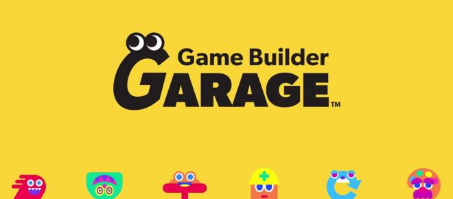 'Game Builder Garage' will teach Switch owners how to make their own video games
