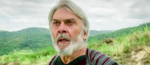 Abrão, agora Abraão, em 'Gênesis' (Reprodução/Record TV)