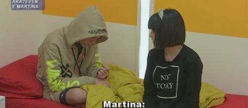 Amici 20, Martina parla di Aka7even.