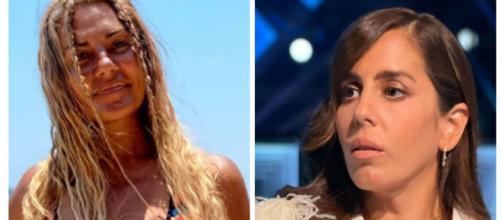 Anabel Pantoja reacciona a la indirecta de su prima Silvia que concursa en Supervivientes. (Instagram @anabelpantoja00 y @sylviapantoja)