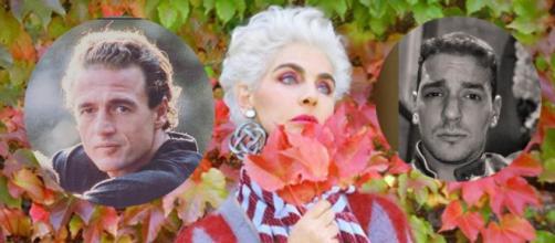 Antonia Dell´Atte ha concedido una exclusiva donde habla de la relación entre su hijo y Lequio (Collage Instagram)