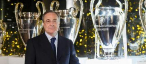Florentino Perez, presidente del Real Madrid.