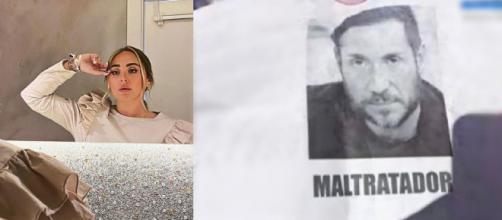 Rocío Flores y el cartel sobre Antonio David (@Rotrece y @Telecincoes)