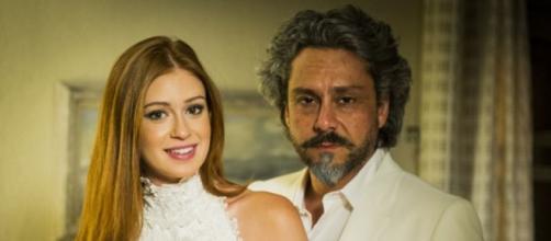 Isis e Zé em 'Império' (Reprodução/Rede Globo)