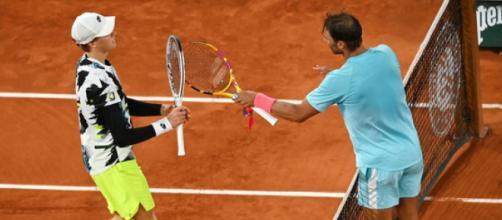 La sfida tra Sinner e Nadal al Roland Garros 2020: potrebbero giocare di nuovo a Roma.