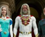 Lady Liberdade, Utópico e Onda Mental, algunso dos heróis de 'O Legado de Júpiter', da Netflix. (Arquivo Blasting News)