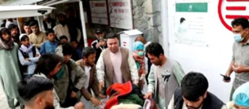 At least 40 killed in school blast in Afghanistan capital (Image source: Reuters/YouTube)