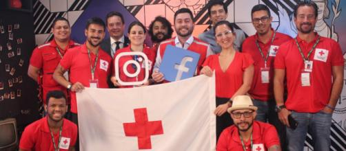 Componentes da Cruz Vermelha do Brasil, instituição presente há mais de um século no país. (Arquivo Blasting News)