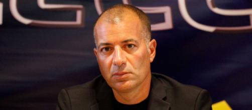 Il presidente del Lecce Saverio Sticchi Damiani.