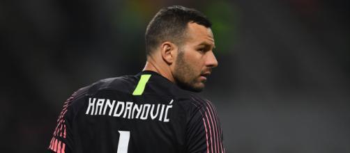 Inter, Handanovic potrebbe essere sostituito.