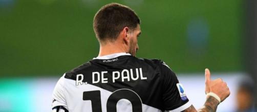 Rodrigo De Paul, centrocampista dell'Udinese