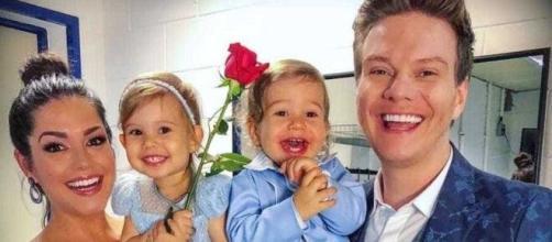 Thaís Ferzoa publicou foto com os filhos (Arquivo Blasting News)
