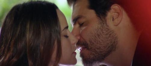 Ana e Lúcio em 'A Vida da Gente' (Reprodução/TV Globo)