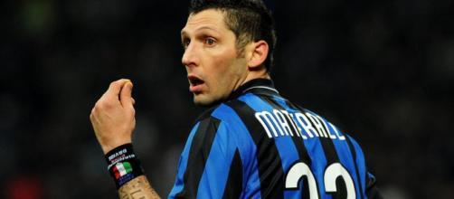 Marco Materazzi, ex difensore dell'Inter.