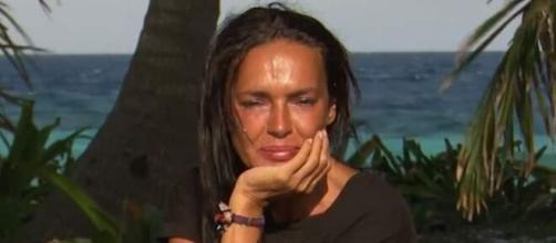 Olga Moreno en 'Supervivientes'. (Telecinco)