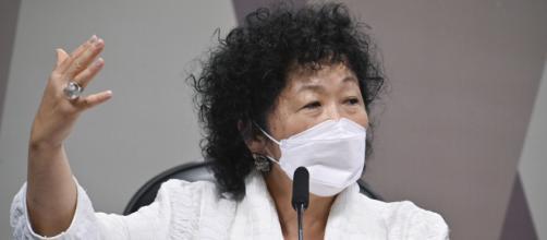 Nise Yamaguchi deu depoimento nesta terça à CPI da Covid (Leopoldo Silva/Agência Senado)