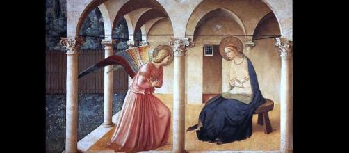 'The Annunciation' by Fra Angelico (Image source: Lars Teglbjaerg/Flickr)