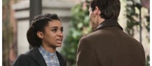 Una vita, spoiler spagnoli: Marcia lascia Santiago appreso che è un complice di Genoveva.