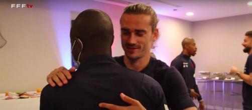 Équipe de France - Photo captures d'écran vidéo FFF TV Youtube