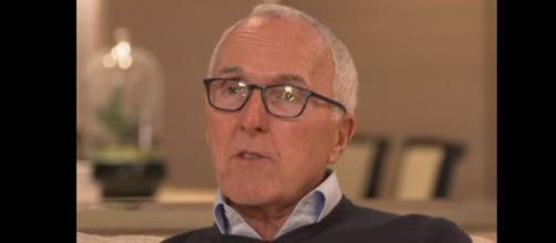 L'américain Frank McCourt, propriétaire de l'Olympique de Marseille - Capture d'écran vidéo Tf1