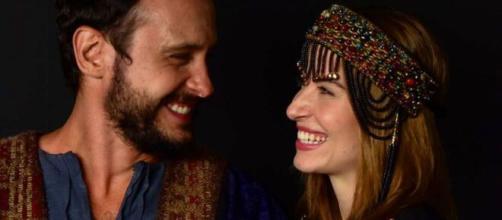 Isaque se apaixona por Rebeca em 'Gênesis' (Divulgação/Record TV)