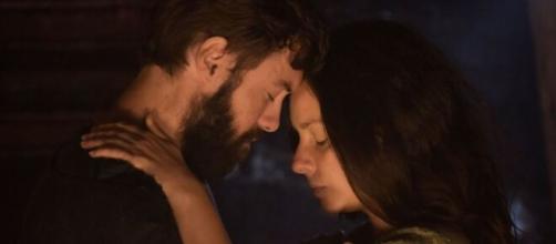 Leora vive romance em 'Gênesis' (Reprodução/Record TV)