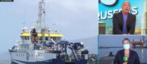 Los restos de Tomás Gimeno y Anna son buscados en el mismo lecho marino donde apareció Olivia (@AruserosLaSexta)