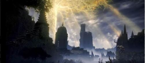 The first collaboration between Hidetaka Miyazaki and George R.R. Martin (Image source: Screenshot/YouTube/IGN)