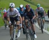 Julian Alaphilippe pendant le tour de Suisse (@capture écran l'équipe)