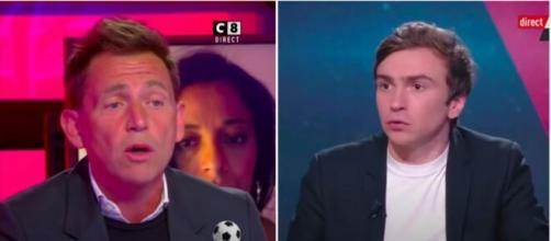 Daniel Riolo clashe le journal l'Équipe - photo captures d'écran vidéos Youtube