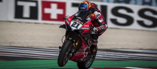 Michael Ruben Rinaldi, pilota Ducati ufficiale nel Mondiale Superbike