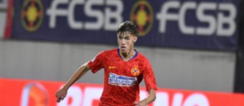 Octavian Popescu, giocatore dello Steaua Bucarest.