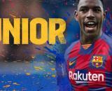 Barça sign Junior Firpo - fcbarcelona.com