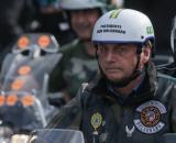 Bolsonaro recebe multa por não usar máscara em motociata na cidade de São Paulo. (Foto: Arquivo Blastingnews)