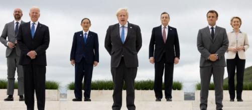 G7 leaders (Image source: Simon Dawson/No 10 Downing Street)