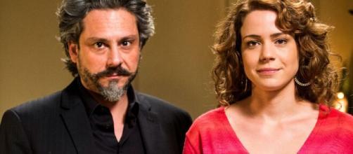José Alfredo e Cristina em 'Império'. (Divulgação/TV Globo)