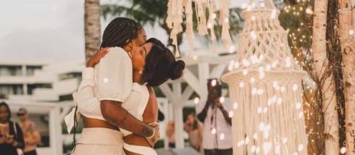 Ludmilla e Brunna Gonçalves renovam votos de casamento (Reprodução/Instagram/@ludmilla)