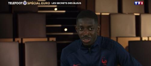 Ousmane Dembélé fait le buzz - Photo Twitter Téléfoot
