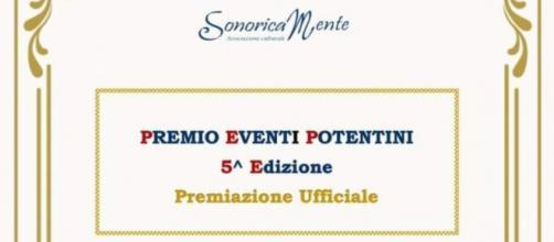 5° Edizione Premio Eventi Potentini.