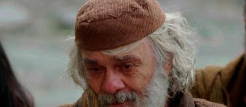 Abraão faz pedido emocionante aos filhos em 'Gênesis' (Reprodução/Record TV)