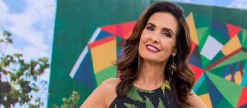 Fátima Bernardes defende uso de máscara (Divulgação/Rede Globo)