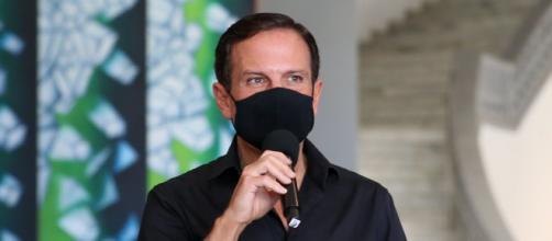 João Doria anuncia antecipação da vacinação e provoca reação do governo federal (Divulgação/Governo do Estado de SP)