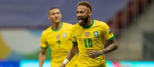 Neymar autore di un gol e di un assist nel 3-0 al Venezuela.