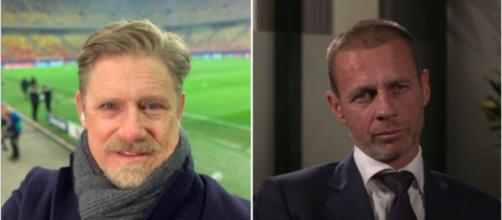 Peter Scheimechel tacle l'UEFA - Photo capture d'écran vidéo Youtube et instagram