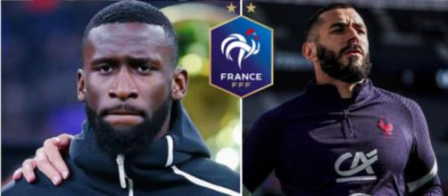 Rüdiger clashe l'équipe de France et se fait détruire par les internautes - Photo capture d'écran Instagram Rüdiger - Benzema