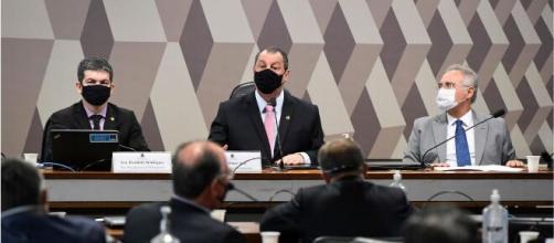 Senadores investigam condutas do governo federal no combate à pandemia (Edilson Rodrigues/Agência Senado)