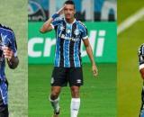Grêmio tem promessas na mira de gigantes da Europa (Fotomontagem/Lucas Uebel/Grêmio)